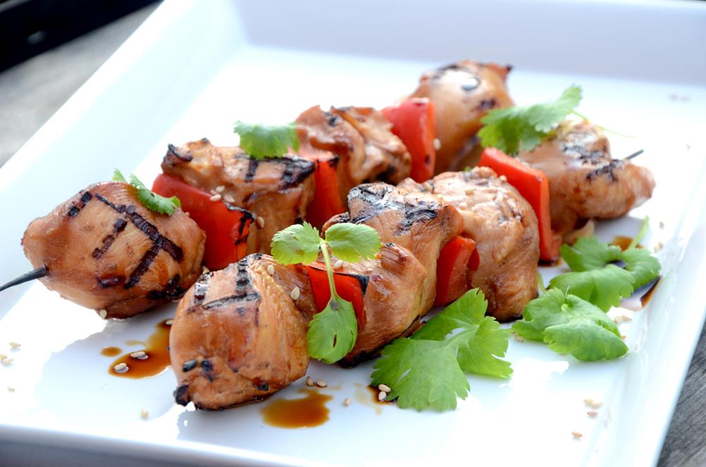 Grillspyd med kyllingbryst-paprika-koriander-soyasaus-asiaitisk marinade_1000