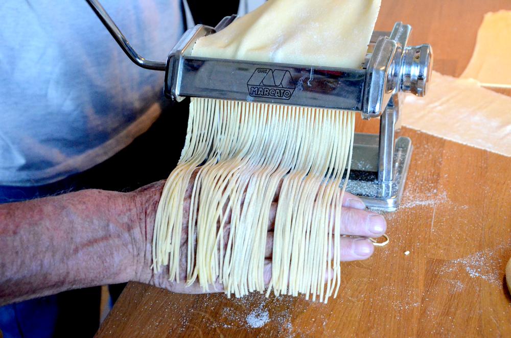 Hvordan lage hjemmelaget pasta-spaghetti_1000