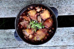 Coq au vin-hønsegryte-hanegryte i rødvin2