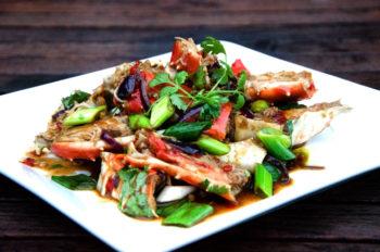 Asiatisk chilikongekrabbe-singapore crab_1000